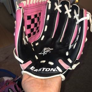Easton girl baseball glove